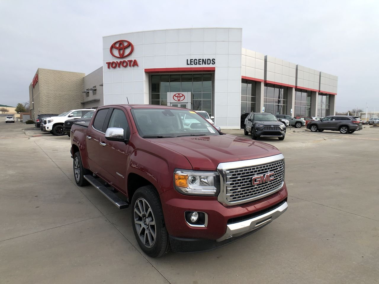 Pre-Owned 2018 GMC Canyon 4WD Denali