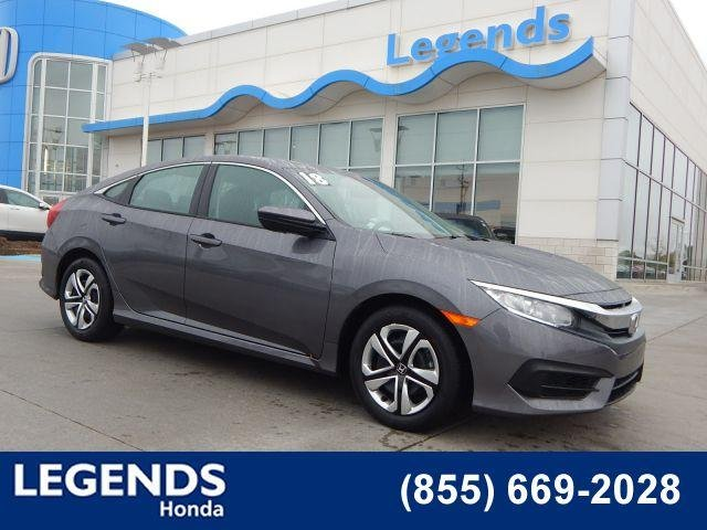 Pre Owned 2018 Honda Civic Sedan LX