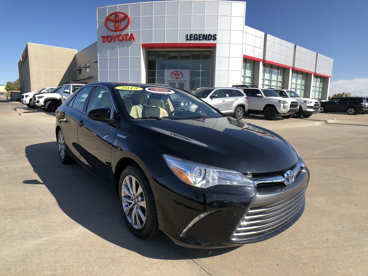Certified Pre-Owned 2015 Toyota Camry Hybrid XLE