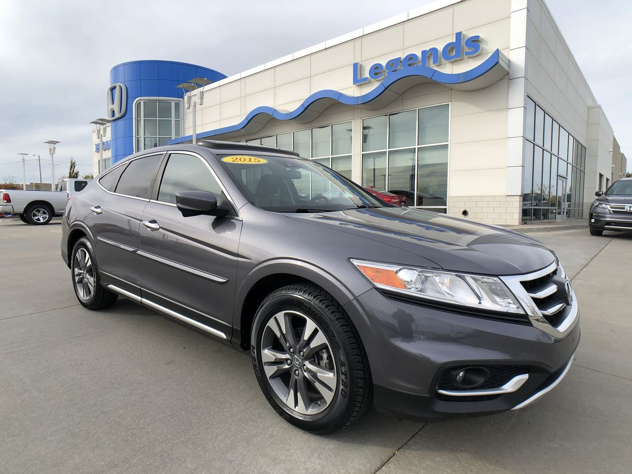 Certified Pre Owned 2015 Honda Crosstour Ex L