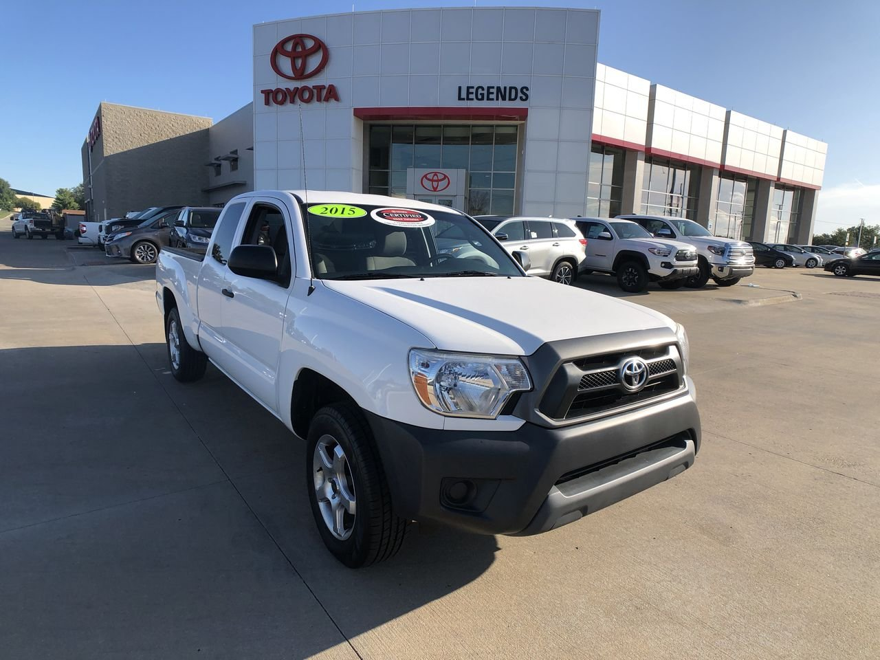 Certified Pre-Owned 2015 Toyota Tacoma 2WD Access Cab I4 AT